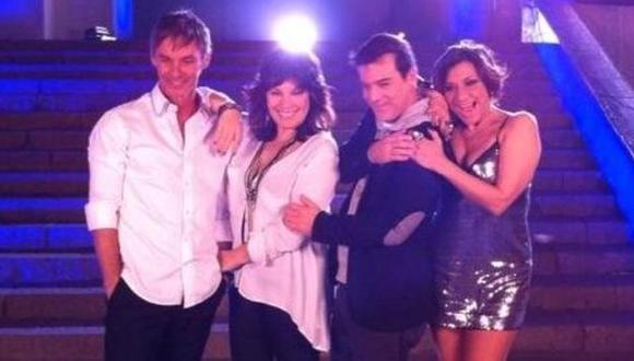 Jean Paul, Elena Romero, Adolfo Aguilar y Bettina Oneto. (Difusión)