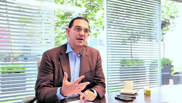 Alfonso Bustamante, presidente de ComexPerú. (Foto: GEC)