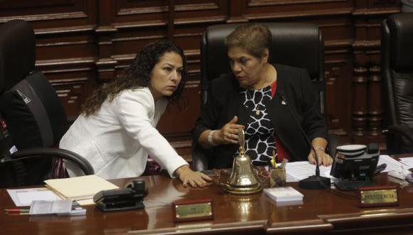Mesa Directiva: Aún no se define quién sucederá a Luz Salgado. (USI)