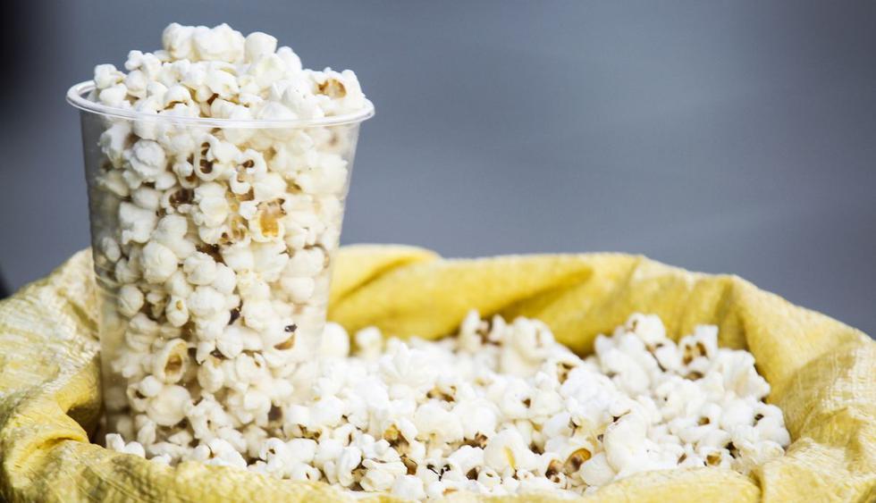 El pop corn o palomitas de maíz son una delicia para acompañar las películas pero, ¿hay caras en cada una de ellas? (Foto: Pixabay)