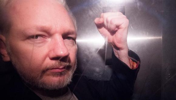 Estados Unidos presenta solicitud formal a Reino Unido para extradición de Julian Assange. (Foto: EFE)