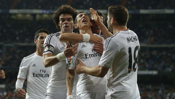 Real Madrid apabulló 4-0 al Almería sin Cristiano Ronaldo. (AP)