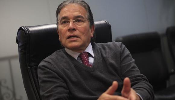 Vladimiro Huaroc buscó explicar propuesta de De Soto. (Gestión)