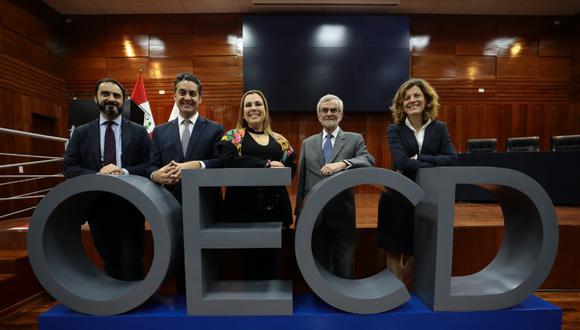 La OCDE se reunió con EsSalud. (Foto: EsSalud)