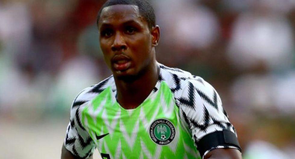 Odion Ighalo jugará a préstamo en Manchester United, hasta el final de la temporada. (Foto: Agencias)