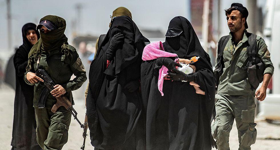 Informe de AFP revela la peligrosidad de las mujeres yihadistas en un campo de refugiados al norte de Siria. (Foto: AFP)
