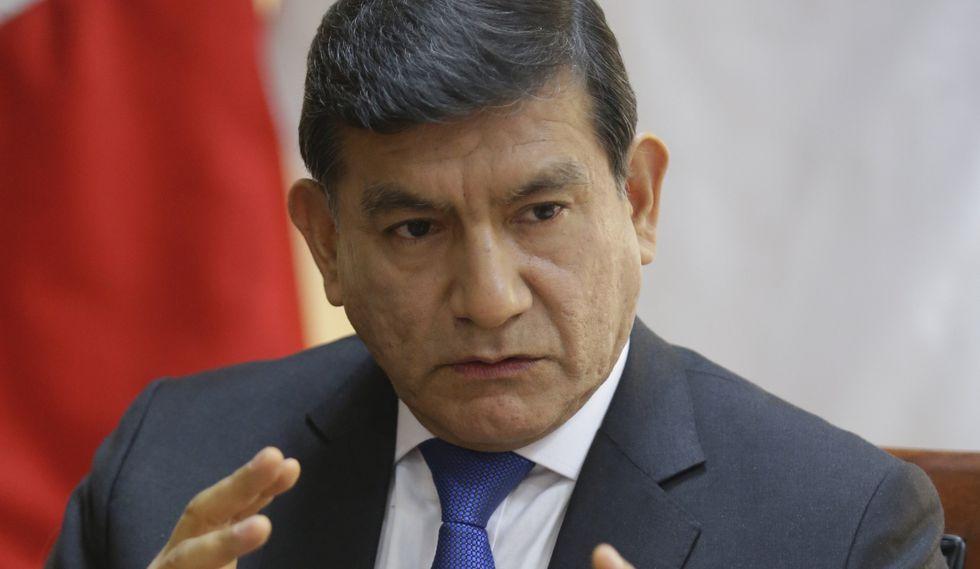 Carlos Morán es ministro del Interior desde octubre de 2018. (Foto: GEC)