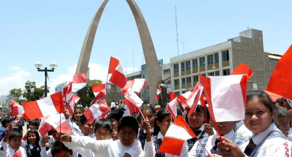 FOTO 1 | Tacna celebra este martes 28 de agosto el aniversario 89 de su reincorporación al Perú. (Foto: Andina/Referencial)