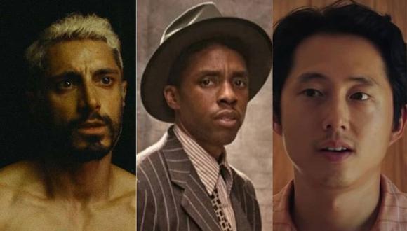 Chadwick Boseman y la complicada lucha que tendrá para consagrarse en los premios Oscar 2021. (Foto: Composición con capturas de video)