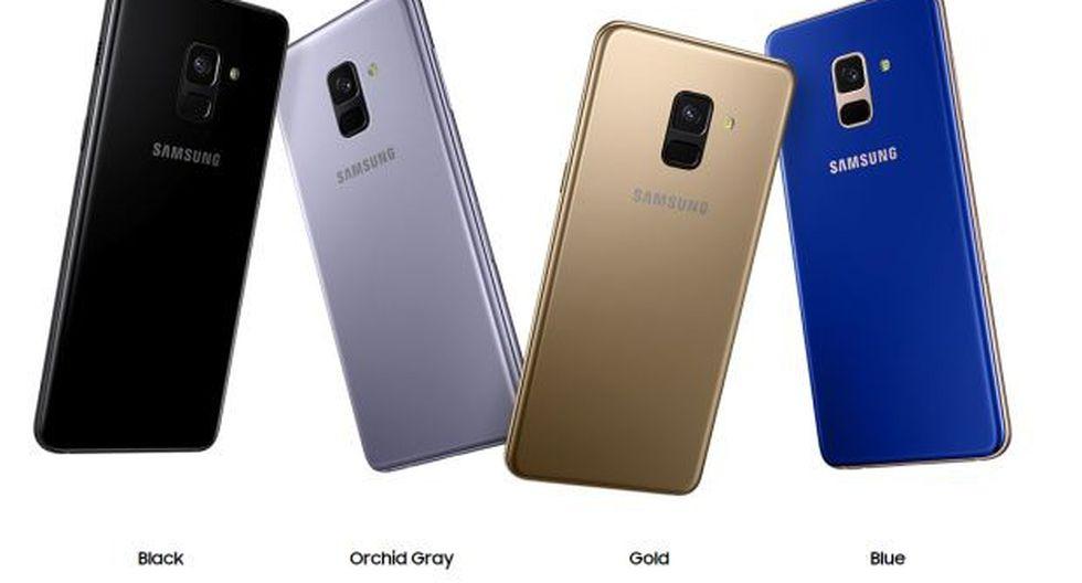 Estos son los colores que estarán disponibles en los nuevos Smartphones de Samsung. (Foto: Samsung)