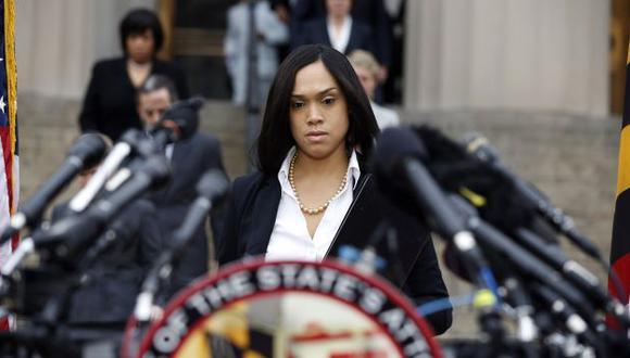 Fiscal estatal de Baltimore, Marilyn Mosby, presentará cargos contra 6 policías por la muerte de Freddie Gray. (AP)