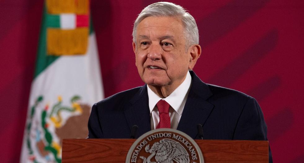 Imagen de Andrés Manuel López Obrador (AMLO) durante su rueda de prensa matutina en el Palacio Nacional, en Ciudad de México (México). (EFE/ Presidencia De México).