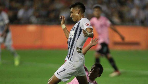 José Manzaneda fue titular en Alianza Lima en el debut ante Sport Boys. (Foto: GEC)