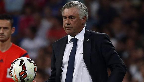 Carlo Ancelotti lamentó la falta de puntería del Real Madrid. (Reuters)