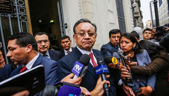 Excontralor Edgar Alarcón tiene un cuestionado perfil. Foto: GEC