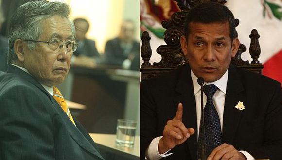 Humala dijo que esperará que el pedido de indulto se haga oficial. (USI)