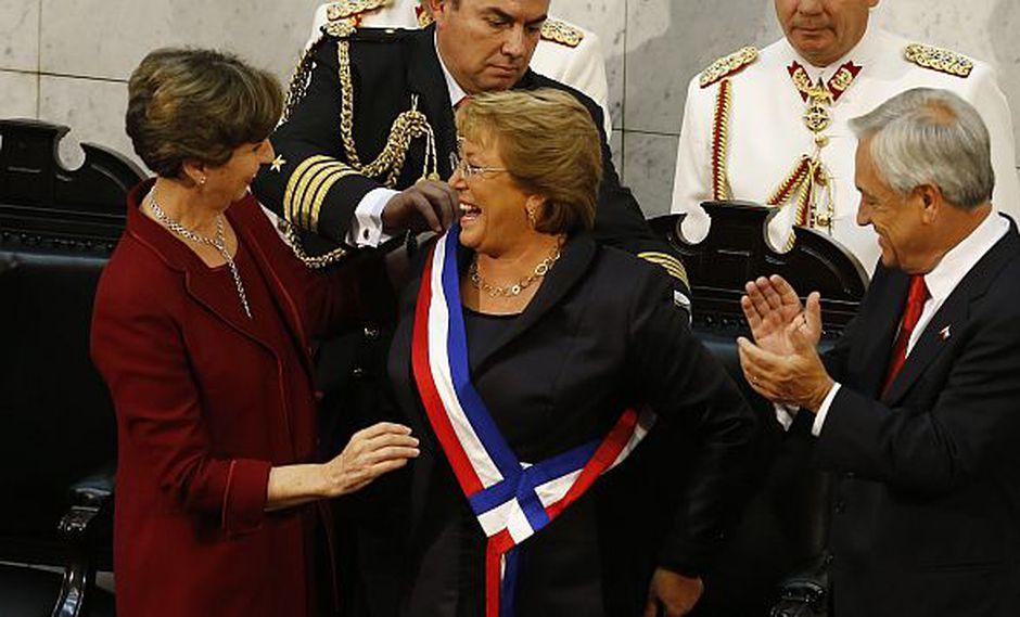 Chile: Michelle Bachelet asumió como nueva presidenta del país vecino. (Captura de TV)