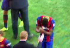 La reverencia de un juvenil de Barcelona a Ronald Koeman que se convirtió en viral [VIDEO]