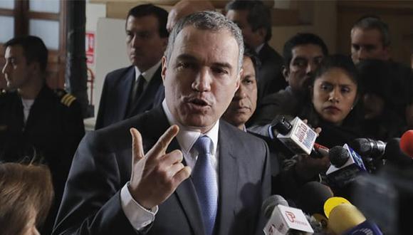 Salvador del Solar presentó el documento de la cuestión de confianza al Congreso de la República. (Foto: Anthony Niño De  Guzmán / GEC)