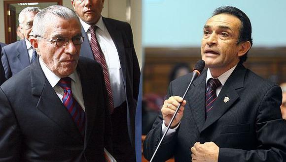 Becerril quedó más que sorprendido con el proceder de Vidal y de la funcionaria Zambrano. (Congreso)