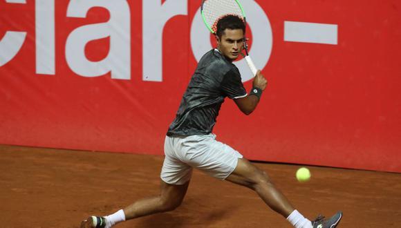 Juan Pablo Varillas cayó por 2-0 ante Garin y quedó eliminado ATP de Santiago. (Foto: GEC)