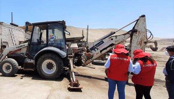 Moquegua: advierten riesgo de inoperatividad en maquinaria para ejecución de obras en Ilo (Foto: Contraloría)