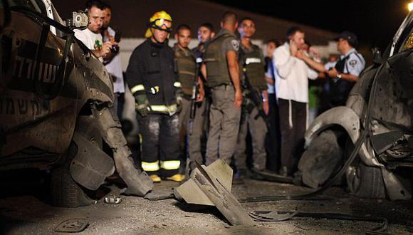 Más de 75 cohetes se han disparado desde Gaza hacia Israel. (Reuters)
