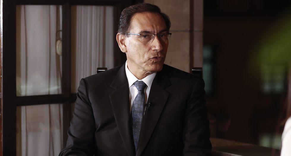 """Martín Vizcarra: """"Fiscal Pedro Chávarry no es idóneo para el cargo"""" (RenzoSalazar/Perú21)"""