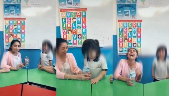 Despiden a maestra de inicial por hacerle 'broma' a su alumna y subir el video a Tik Tok en México [VIDEO]