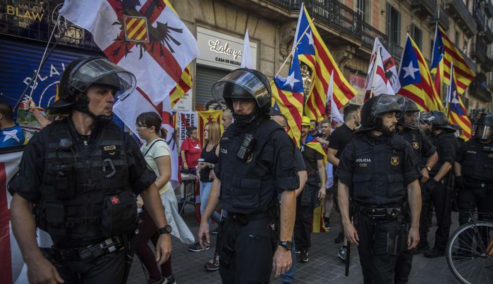 """Los independentistas de Cataluña preparan este martes la primera de una serie de movilizaciones en pos de una """"República Catalana"""". (Foto: AP)"""