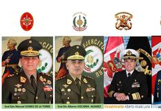 Designan al nuevo jefe de Comando Conjunto de las FF.AA.