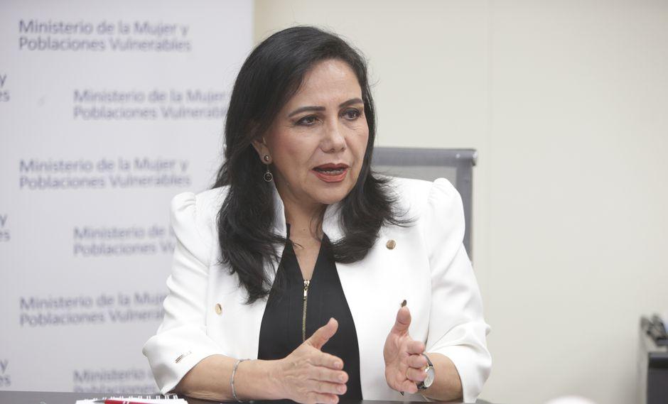Ministra de la Mujer se pronunció respecto a sentencia del asesino de Eyvi Ágreda. (Foto: GEC)
