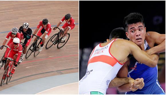 Las nuevas medallas de bronce son en ciclismo de pista y en lucha grecorromana. (Lima 2019)