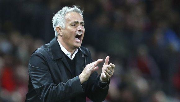 José Mourinho tiene contrato con Manchester United hasta el 2020. (Foto: AFP).