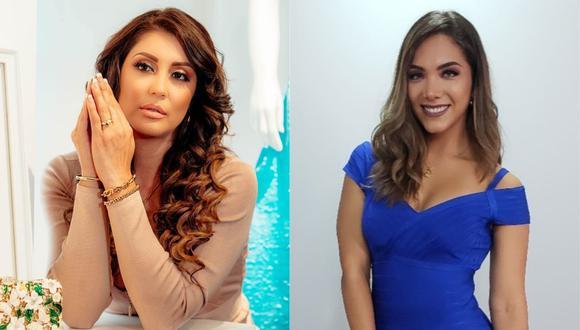 Karla Tarazona cuestiona a Isabel Acevedo. (Foto: Instagram)