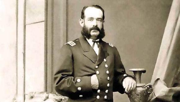Miguel Grau murió a bordo del monitor Huáscar el 8 de octubre de 1879 a las 9:50 de la mañana, frente a las costas de Angamos.