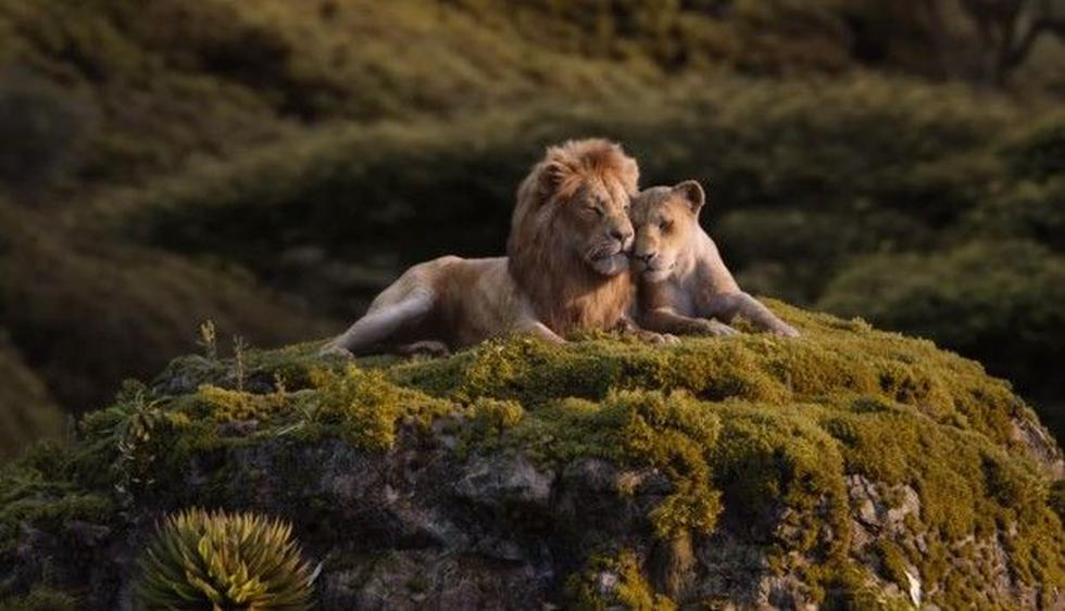 """""""El rey león"""": nuevo adelanto muestra la canción de Simba y Nala en voces de Beyoncé y Donald Glover. (Foto: Disney)"""