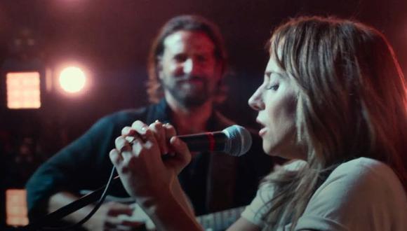 """Lady Gaga y Bradley Cooper protagonizan la película """"A Star ir Born"""" que ha sido todo un éxito, principalmente por la canción """"Shallow"""". (Foto: Warner Bros. Pictures)"""