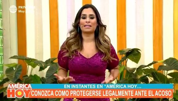 """Ethel Pozo lanza contundente mensaje sobre el caso de la violación grupal: """"No vamos a permitirlo más"""". (Foto: Captura de video)"""