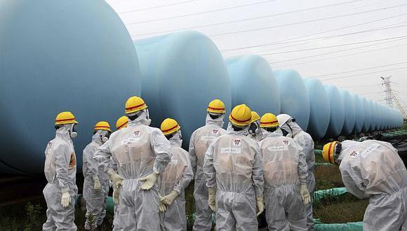 Continúan trabajos en Fukushima para combatir filtración de agua radiactiva. (EFE)