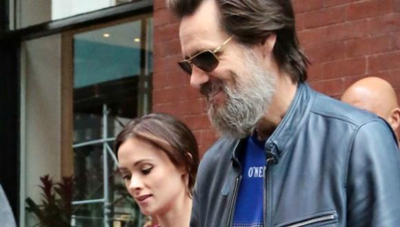 Jim Carrey y Cathriona White se conocieron en el 2012. (People)