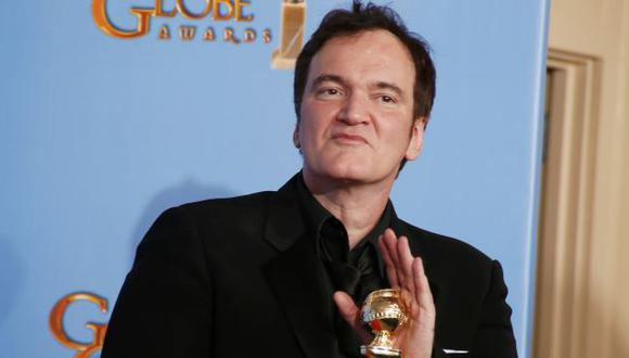 En 2013, ganó el Globo de Oro a Mejor guion por Django Unchained. (Reuters)