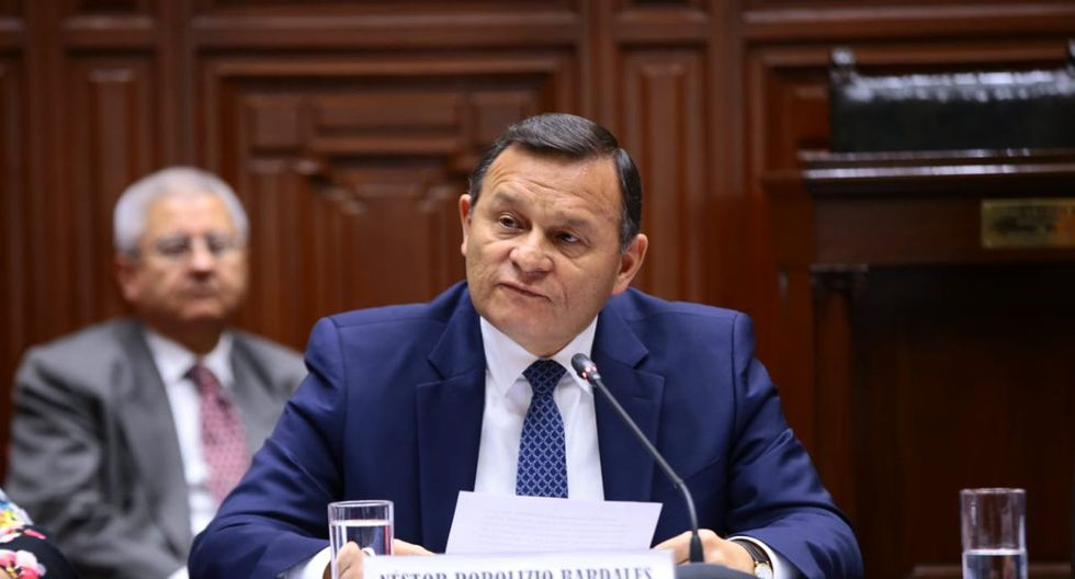 El ministro Néstor Popolizio se pronunció horas después que se oficializara la inhabilitación política contra Juan Guaidó en Venezuela. (Foto: Congreso de la República)