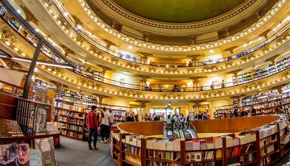 Ateneo Grand Splendid: una librería edificada en un teatro histórico. (Foto: Difusión)
