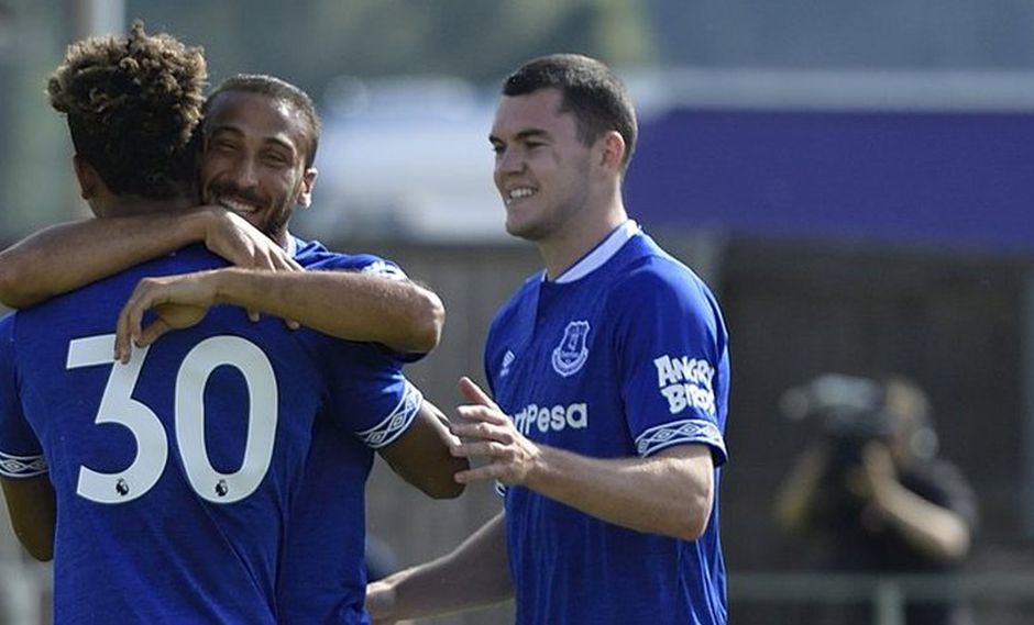 Everton goleó 22-0 en el inicio de la pretemporada (Foto: Twitter).