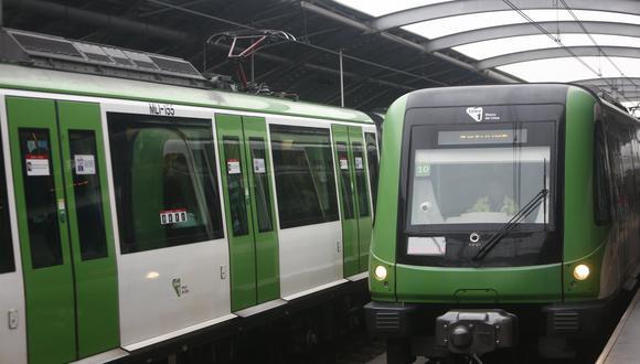 Qué debes hacer si estás dentro del tren en caso de un sismo. (RENZO SALAZAR/GEC)