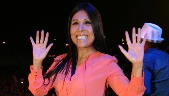 Tula Rodríguez molesta por comentario de Gisela Valcárcel. (Perú21)