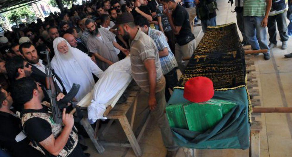 confirmado. Según ONG MSF, 355 personas murieron el miércoles pasado por gases nerviosos. (AFP)