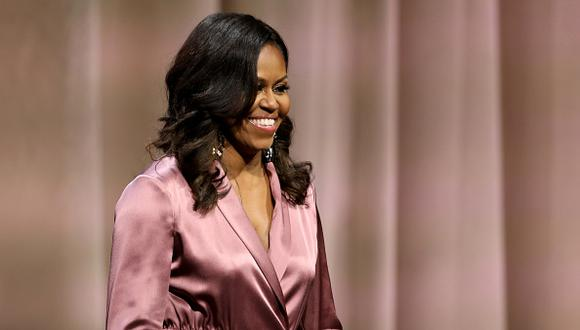 Michelle Obama es la mujer más admirada en Estados Unidos. (Getty)
