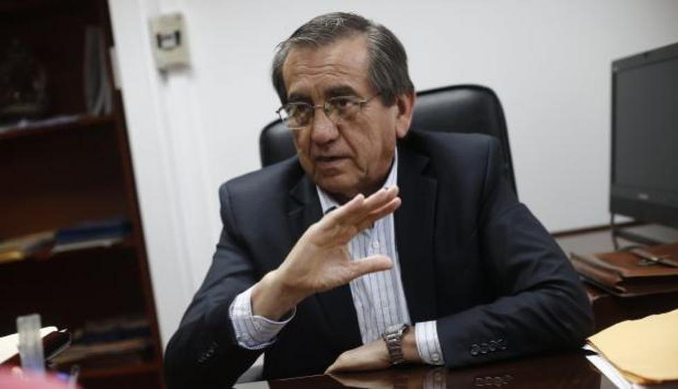 """""""Yo he combatido al señor Humala, lo denuncio y creo que ha cometido excesos, pero de ahí a perpetrar es un abuso de autoridad"""", exclamó. (Renzo Salazar/Perú21)"""